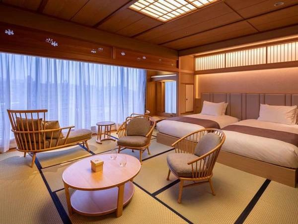 露天風呂付客室「福寿」12.5畳/一例