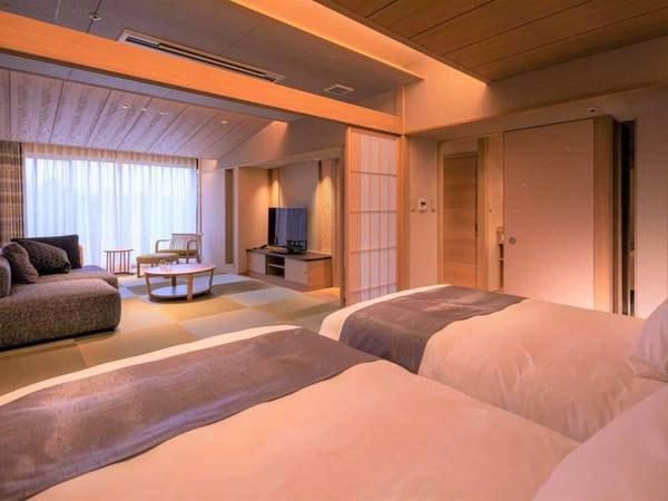 ビューバス付和モダン特別客室ベッド付/一例