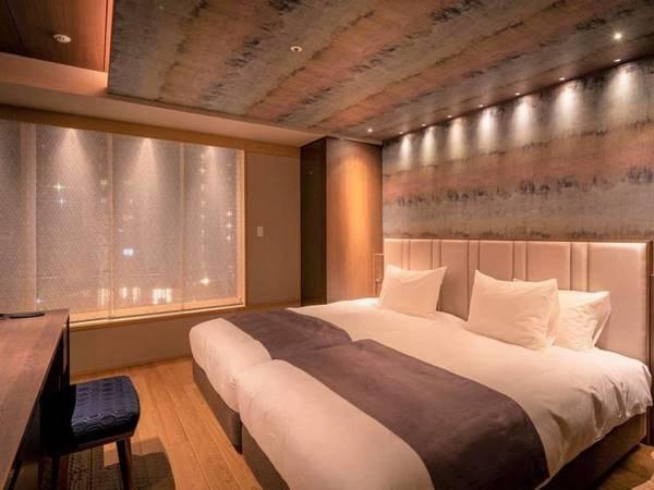 和モダン客室12畳(ベッド付)/一例