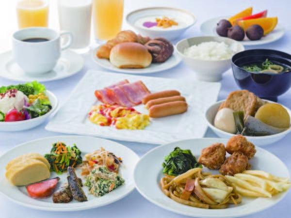 【朝食/例】約30品前後の和洋バイキング
