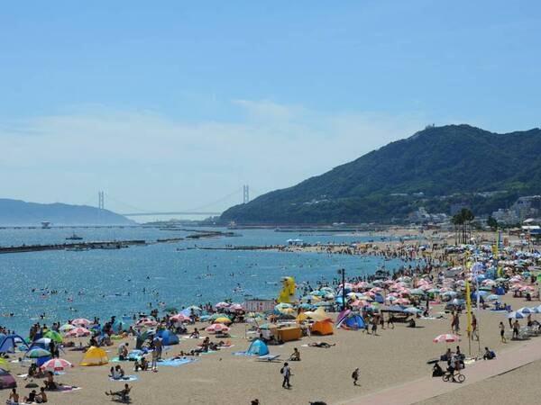 【須磨海岸】砂浜まで徒歩50秒!