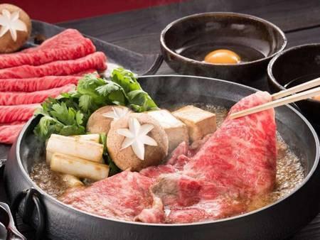 神戸牛すき焼きプラン/一例
