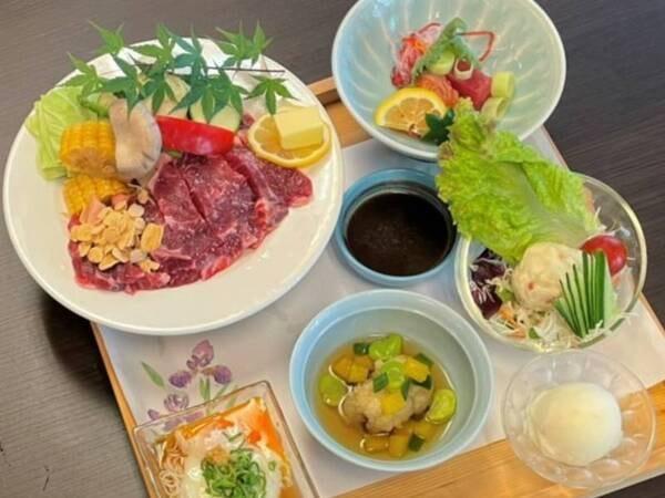 ゆうわステーキ膳/例