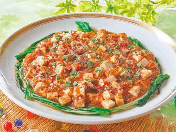 麻婆豆腐/例