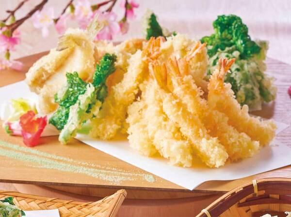 【3~5月 春の料理フェア】『天ぷら盛り合わせ』※イメージ