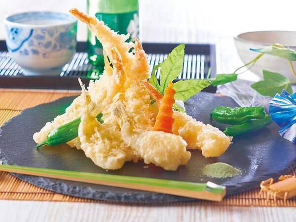 【★2021夏の料理フェア★】海鮮と野菜の天ぷら※イメージ