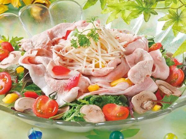 【★2021夏の料理フェア★】豚肉と香味野菜の冷製サラダ仕立て※イメージ