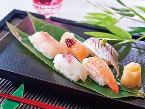 【★2021秋の料理フェア★】寿司5種※イメージ