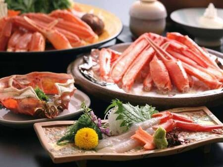 【香住3大食材プラン/一例】特選香住紅ズワイガニコース