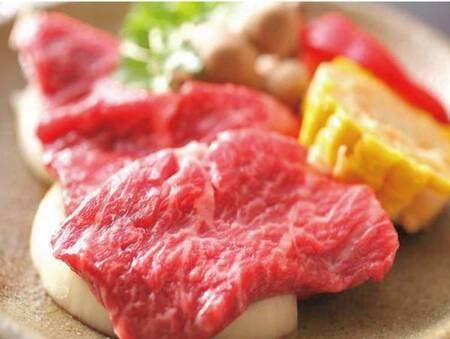【香住3大食材プラン/一例】地元ブランド牛「但馬牛」の陶板焼き