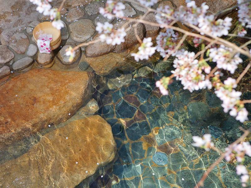 桜の湯楓の湯 貸切露天風呂