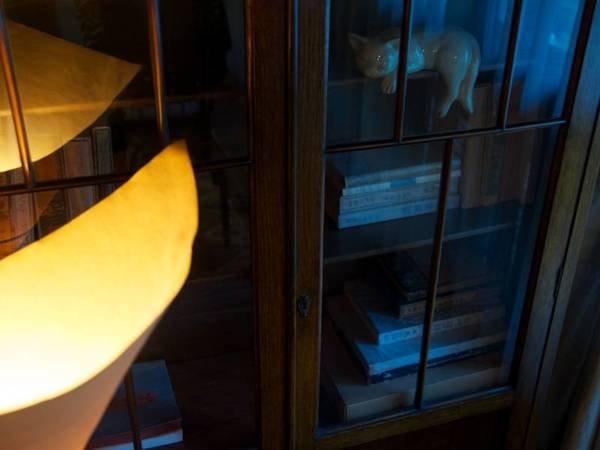 【館内/例】御所坊の照明コンセプト、谷崎潤一郎の陰翳礼讃の世界。