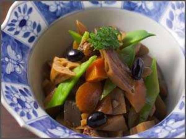 【少量美味コース/例】兵庫の無農薬・有機野菜を皮ごと使用した身体に優しい煮物