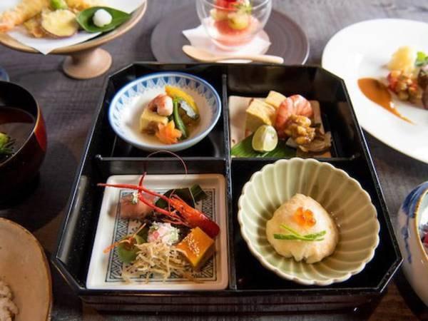 【御所別墅山家会席/一例】旬の食材を中心に地元有馬や神戸・明石の厳選された素材を楽しめる