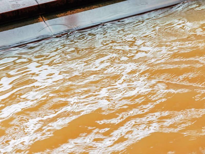 【大浴場】泡沫浴槽には真湯を使用しています