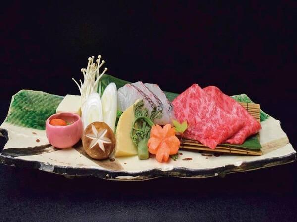 神戸牛プレミアム会席プラン【神戸牛と旬魚のしゃぶしゃぶ】/例