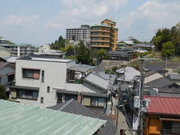 【お部屋からの眺め/例】風情ある街並みを眺める