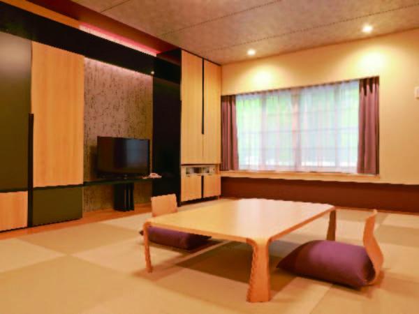 【客室/例】14畳の和室をご用意 ※眺望はご期待いただけません