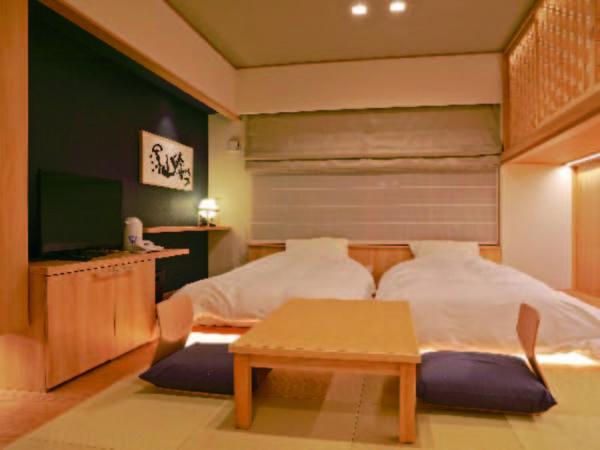 【客室/例】和室12畳+ロフトベッド(2名分)の客室をご用意