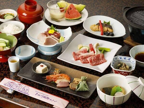 【季節の和食膳/一例】地元の名物日光ゆばもご堪能ください