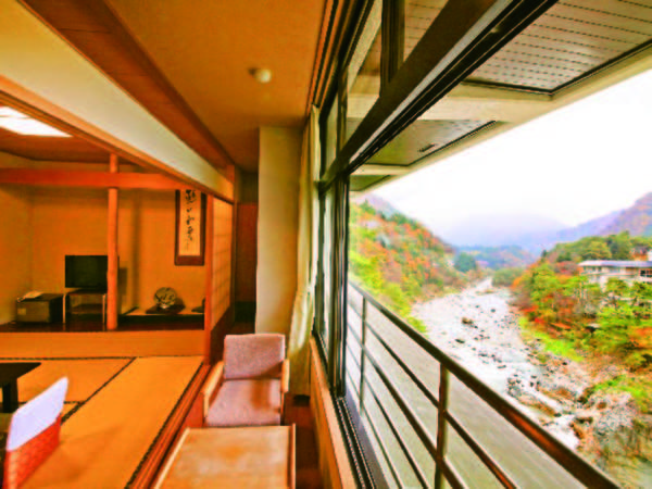 【客室/例】全室渓流側!夕朝食ともにお部屋食が嬉しい