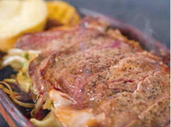 【黒毛和牛ステーキ付会席/例】大ボリュームの黒毛和牛ステーキ