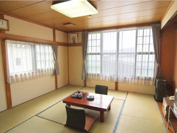 【客室/例】お宿お任せタイプで6~10畳、500円増で10畳各役