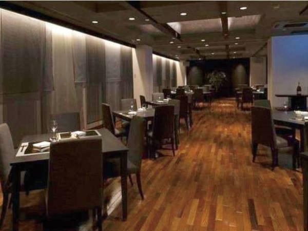 【レストラン「マロニエ」】落ち着いた雰囲気の中でゆっくりとお食事を