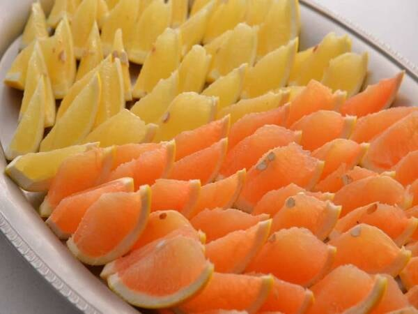 【朝食バイキング/一例】新鮮なフルーツをたっぷりお召し上がりください!