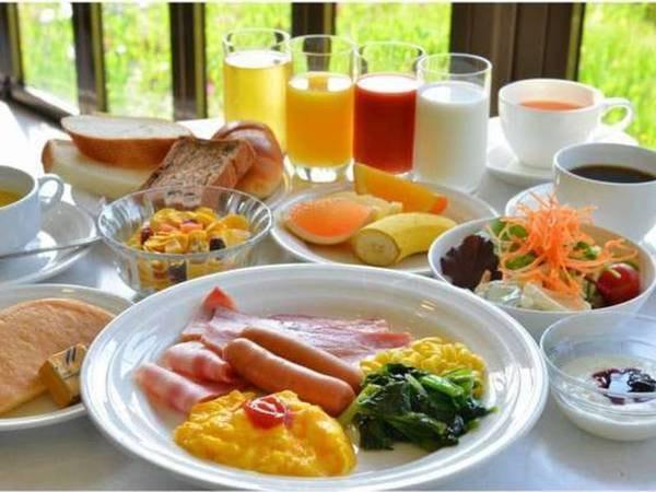 朝食のみ/洋食盛り付け一例
