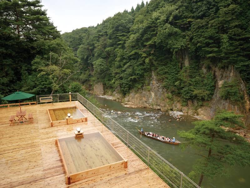 【混浴露天風呂】4月中旬~10月下旬頃まで入浴可能