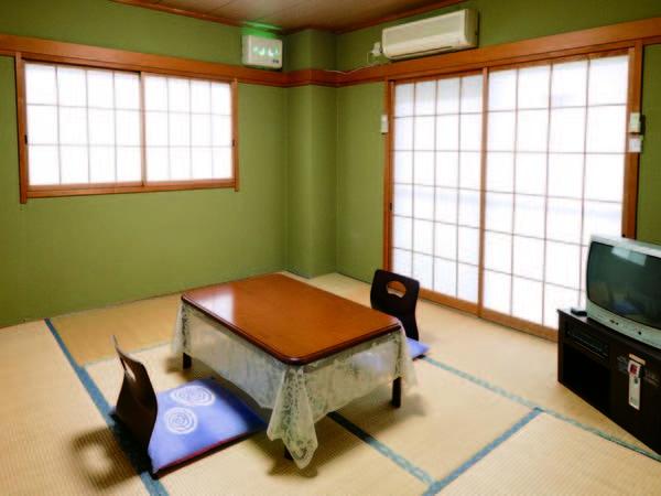 【6畳和洋室/例】マンション風の宿泊棟