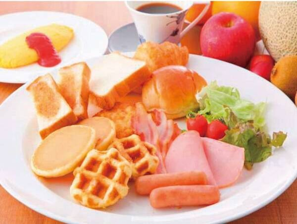 朝食バイキング/例