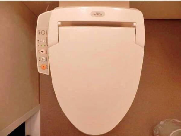 客室設備/例 ウォシュレット付きトイレ