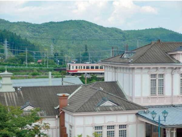 客室眺望/例 日光駅や電車が見えます♪