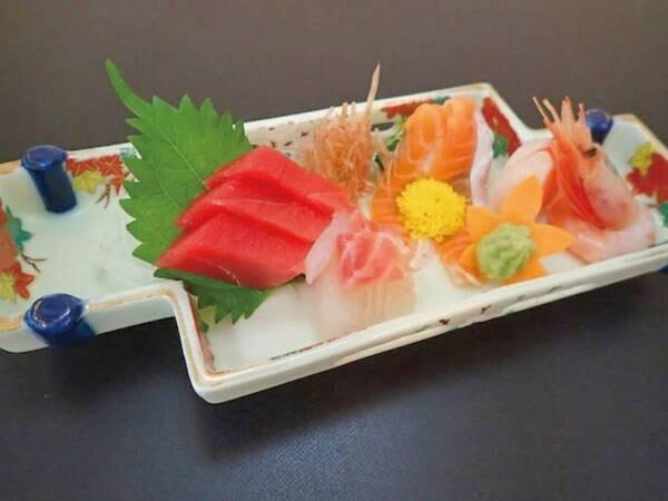 【夕食/例】刺身盛には栃木の新名物、プレミアムヤシオマスも!