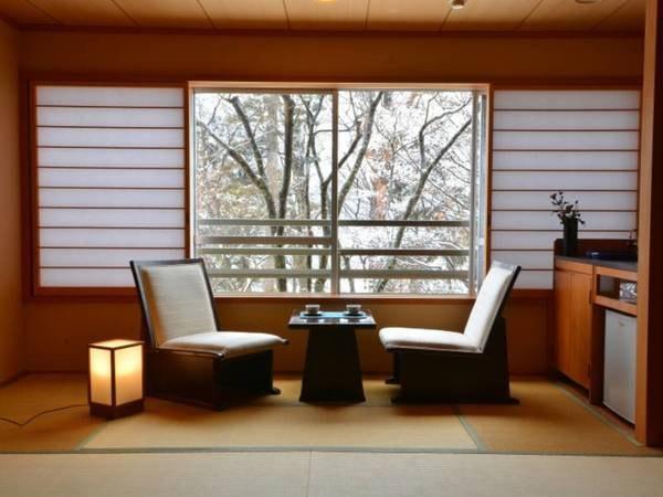 特別室和室からの眺め一例