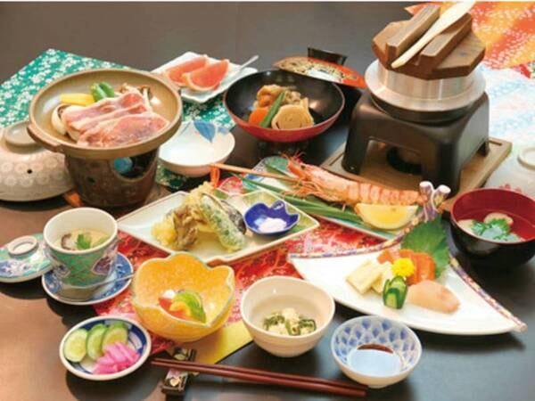 夕食:和食御膳/例 ※日によりバイキングから変更の可能性がございま