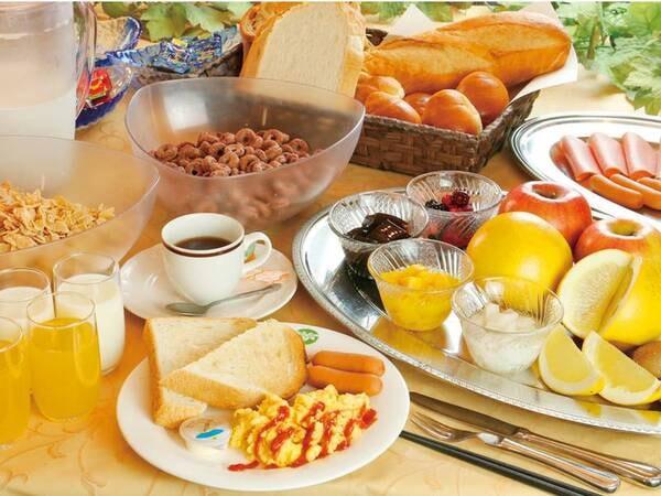 朝食:バイキング/例
