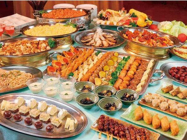 夕食:バイキング/例 ※日により和食御膳の可能性がございます