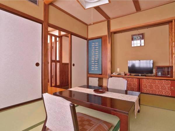 叢林(そうりん)亭和室6畳一例