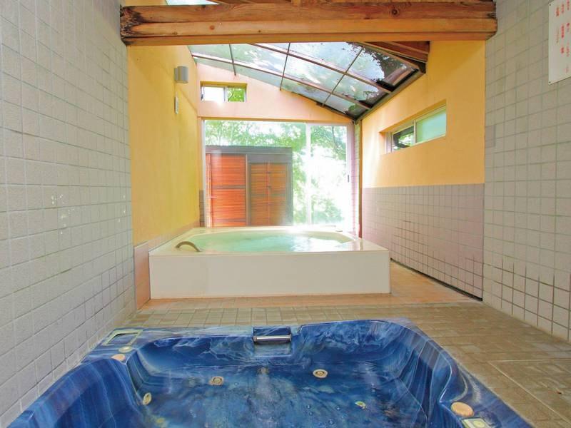無料貸切風呂(ジャグジー風呂)強力なジャクジーで身体のコリを解きほぐします