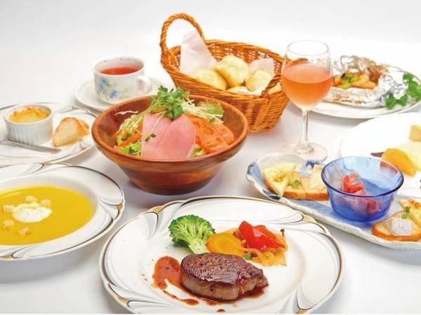 【夕食/例】オーナーご夫妻の手作り料理