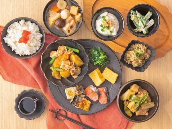 【朝食/例】スイーツや手作り惣菜もご用意。お好きなものをお好きなだけお愉しみください