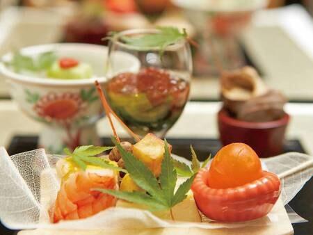 【夕食】前菜/一例