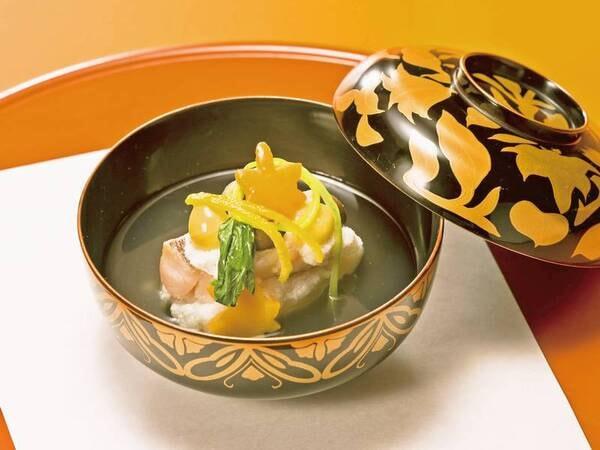 【夕食/一例】出汁の旨味をお楽しみください