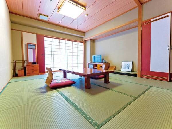 【和室一例】バス・洗浄機能トイレ付の10畳和室をご用意
