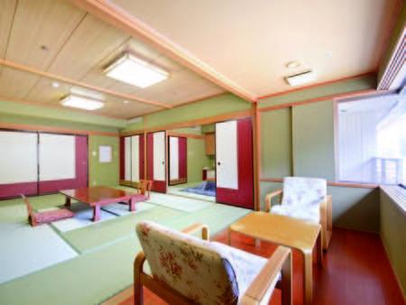 【2間和室一例】10畳+6畳和室。バス・洗浄機能トイレ付のゆったり客室