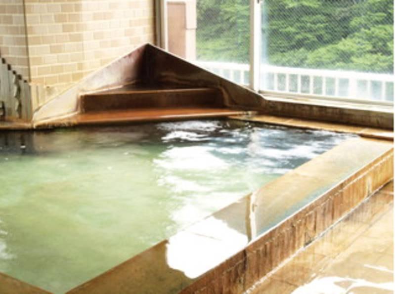 【7階内湯 女風呂】天然温泉を贅沢にかけ流し