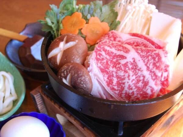 「日光高原牛」すき焼和御膳/一例